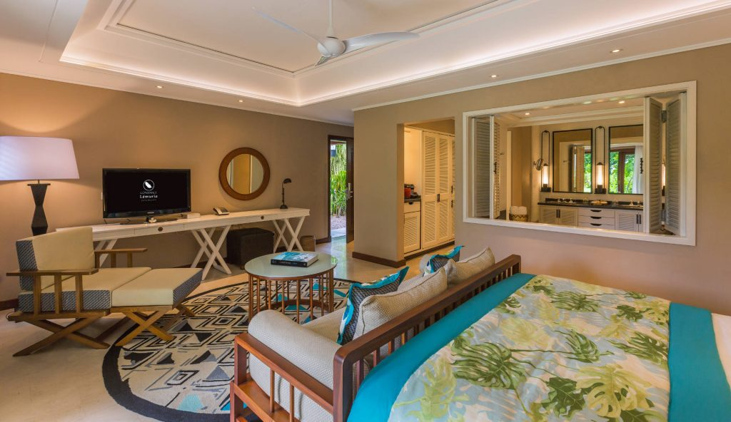 Stilvolle Junior Suite auf Praslin
