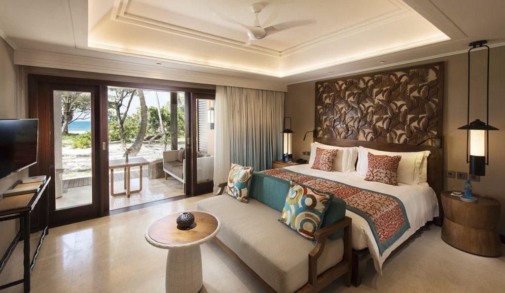 Das luxuriöse Schlafzimmer in der Senior Suite